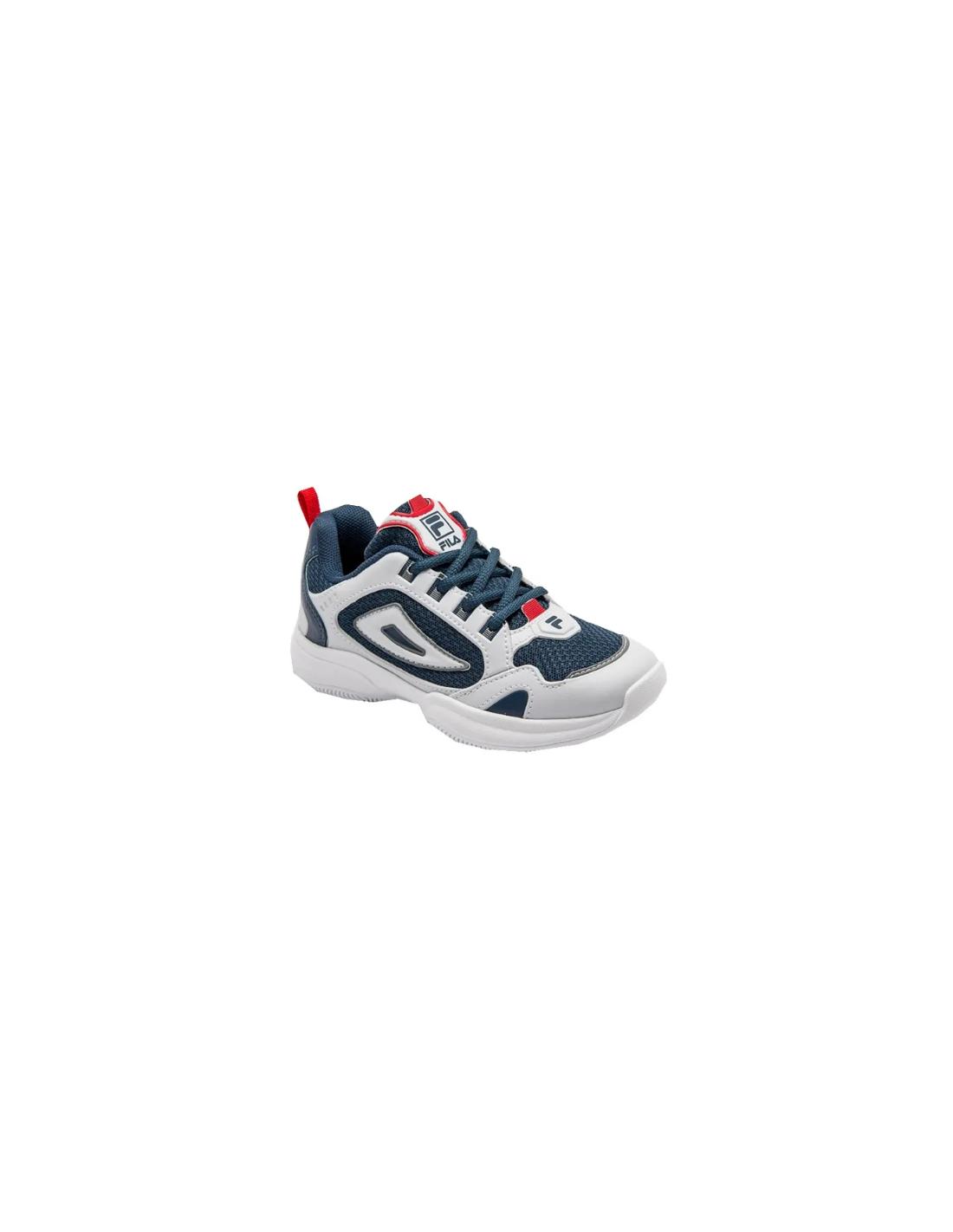 Zapatilla Fila Junior Attrek Blanco  Azul 877607