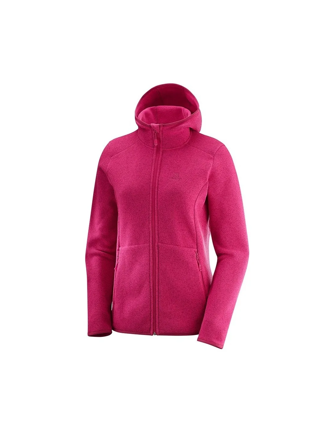 SALOMON Bise Hoodie W Poli/éster Mujer Chaqueta deportiva con capucha